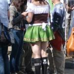 Runner in costume after the Fremont Oktoberfest 5k run
