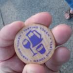 Fremont Oktoberfest beer tasting token