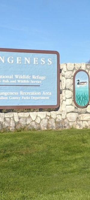 Dungeness Recreation Area entrance