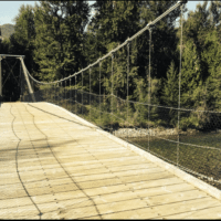 Tawlks-Foster suspension bridge
