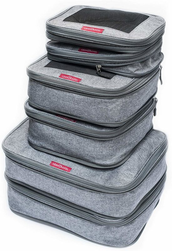 Compression packing cubes a great gift for travelers
