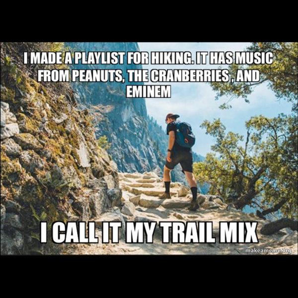 music trail mix meme