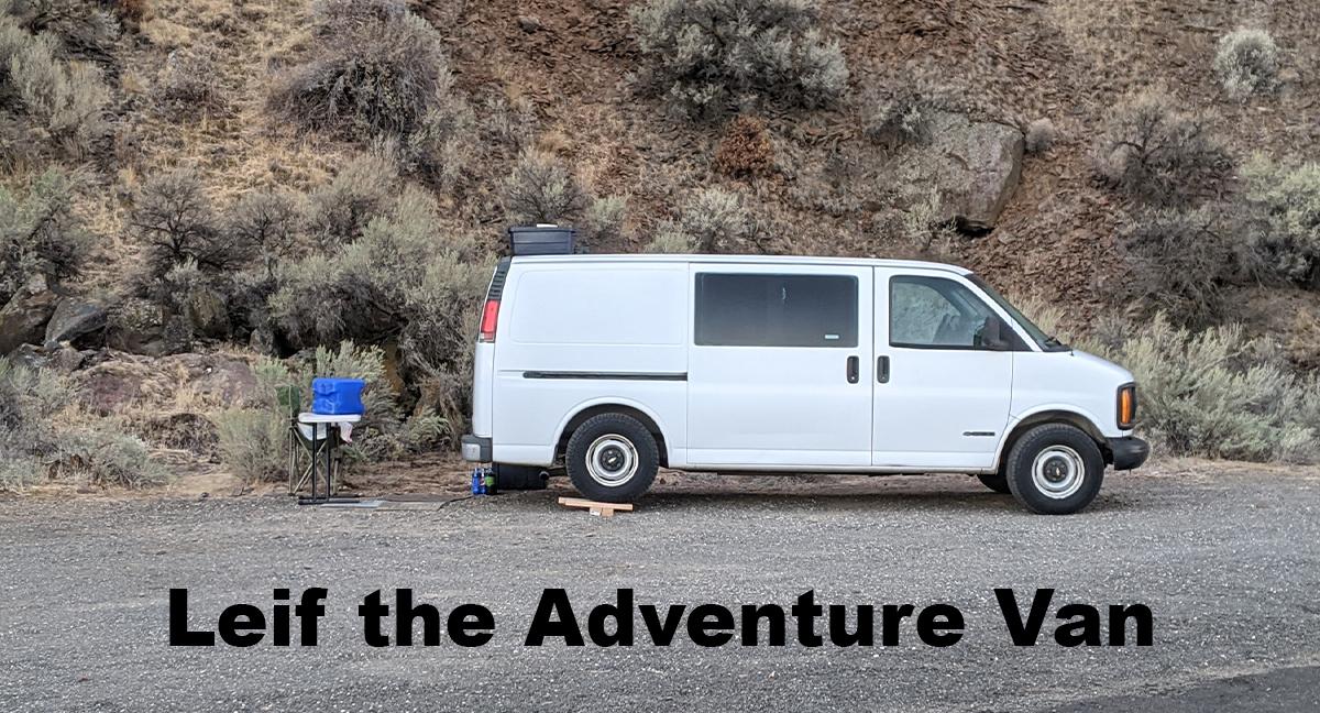 Leif the adventure van