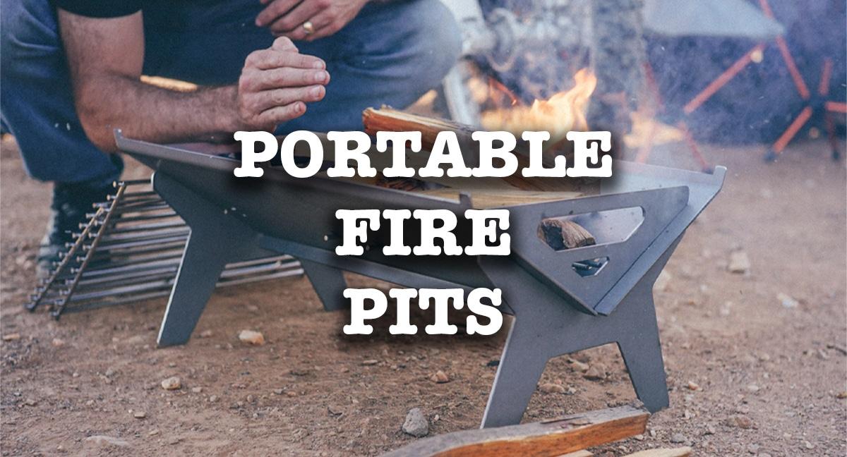 van life portable fire pits