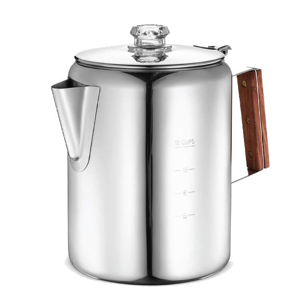 Eurolux Percolator Coffee Maker Pot for camping