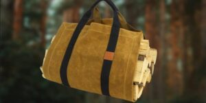 firewood carriers for camping and campfires